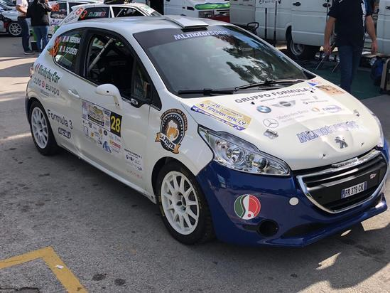 4° Tindari Rally 2018 Scuderi-Messina Peugeot 208 R2B